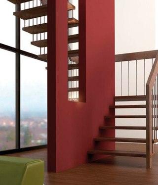 室内楼梯护栏装修